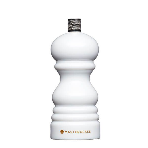MasterClass White 12cm Salt or Pepper Mill