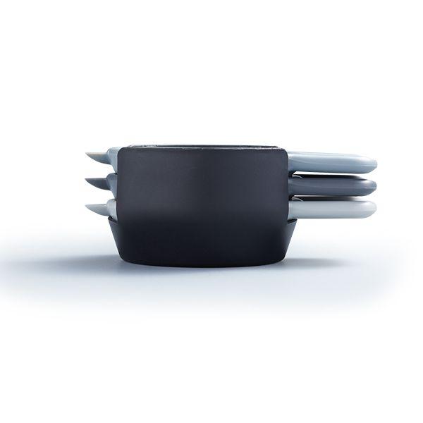 MasterClass Smart Space Stacking Mini Peeler Set