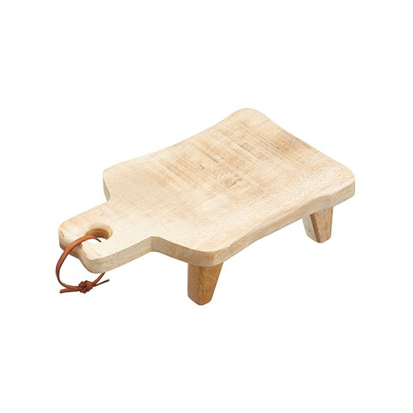 Master Class Gourmet Prep & Serve Medium Footed Serving Board