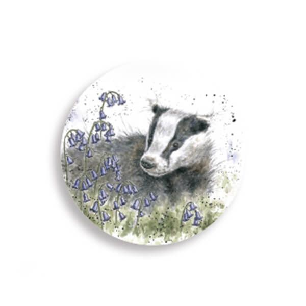 Wrendale Designs Badger Magnet