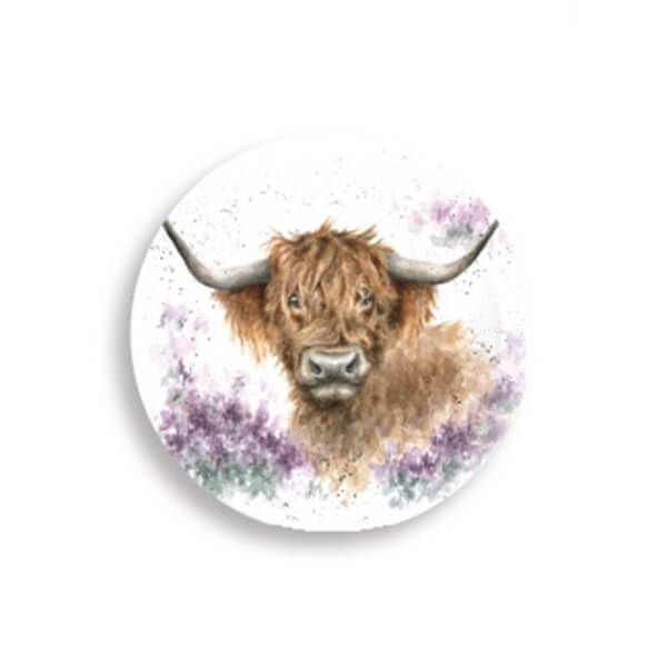 Wrendale Designs Highland Cow Magnet