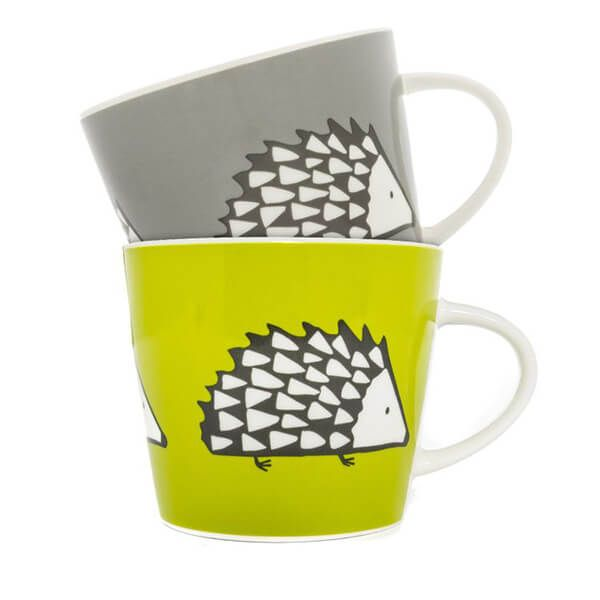 Scion Living Spike Set of 2 350ml Mugs