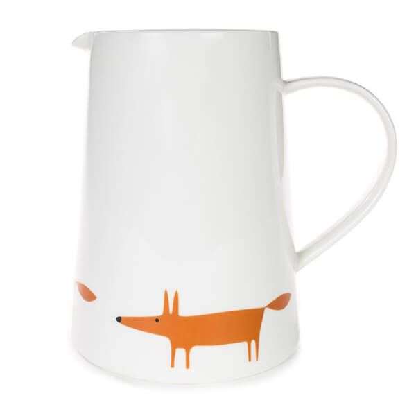 Scion Living Mr Fox Ceramic & Orange Large Jug