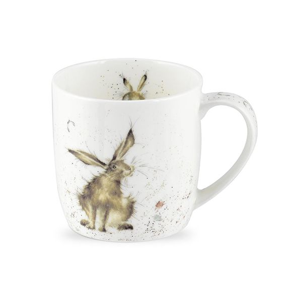 Wrendale Designs Fine Bone China Mug Good Hare Day 6 for 5