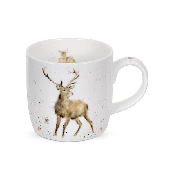 Wrendale Designs Fine Bone China Mug Wild At Heart 6 for 5