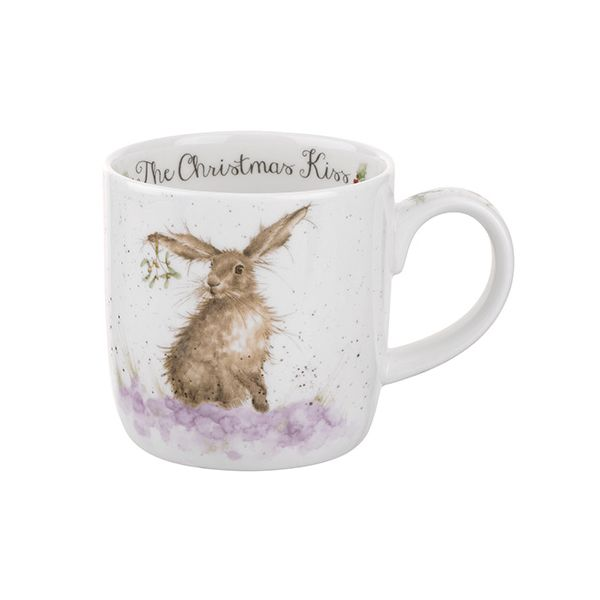 Wrendale Designs Fine Bone China Mug The Christmas Kiss 6 for 5