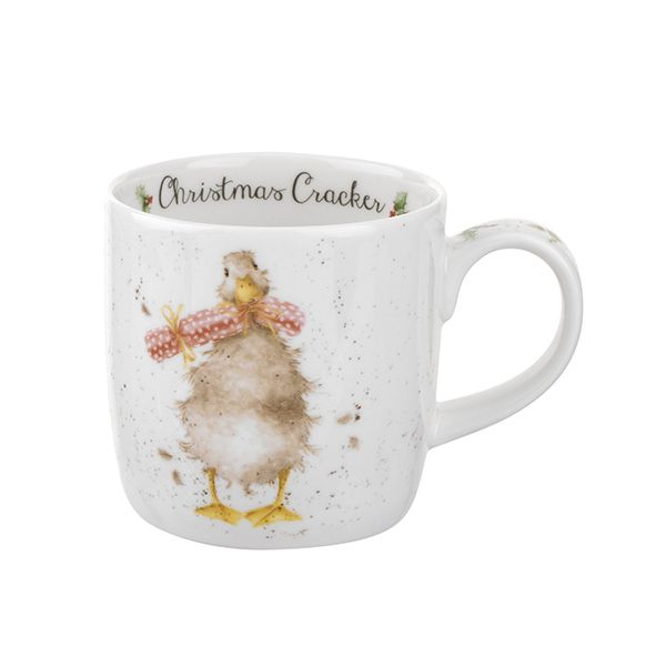 Wrendale Designs Fine Bone China Mug Christmas Cracker 6 for 5