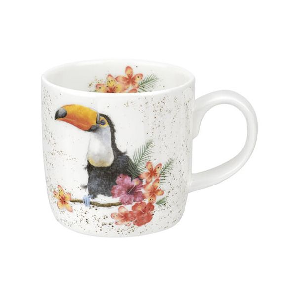 Wrendale Designs Fine Bone China Mug Toucan Of My Affection 6 for 5