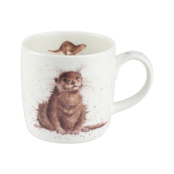 Wrendale Designs Fine Bone China Mug River Gent Otter 6 for 5