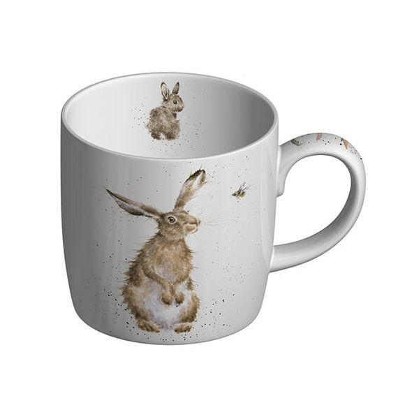 Wrendale Designs Fine Bone China Mug The Hare and the Bee 6 for 5