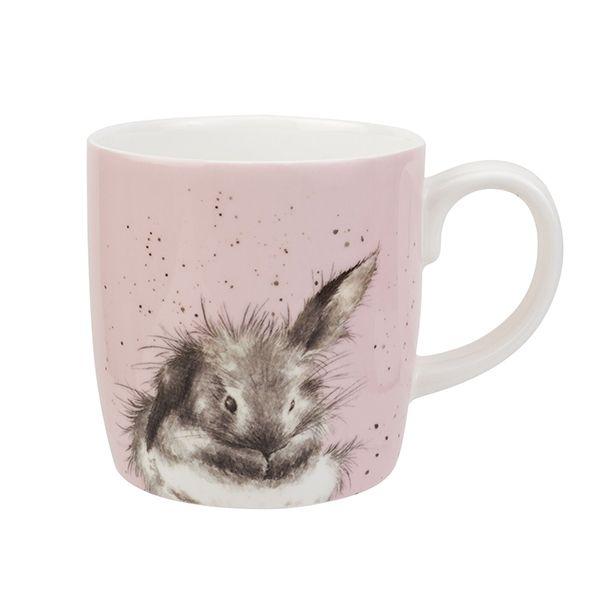 Wrendale Designs Large Fine Bone China Mug Bathtime Rabbit