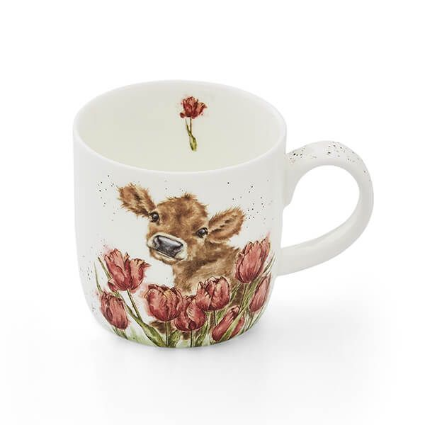 Wrendale Designs Bessie Cow Fine Bone China Mug
