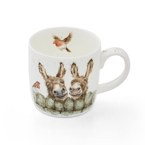 Wrendale Designs Fine Bone China Mug Hee Haw