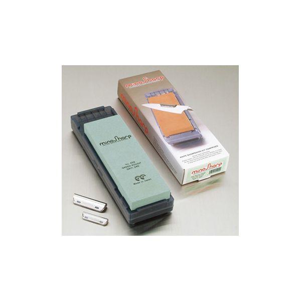 MinoSharp Sharpening Kit With Rough Stone