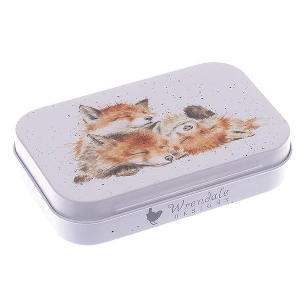 Wrendale Designs Fox Mini Tin