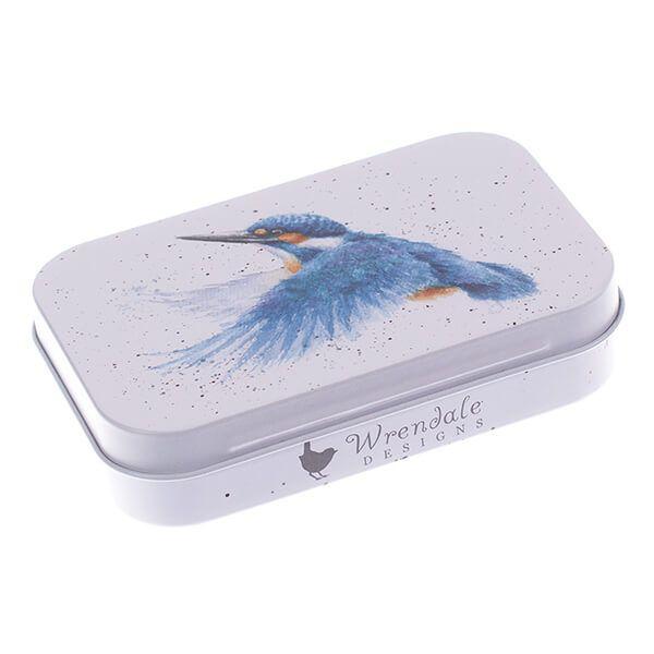 Wrendale Designs Kingfisher Mini Tin