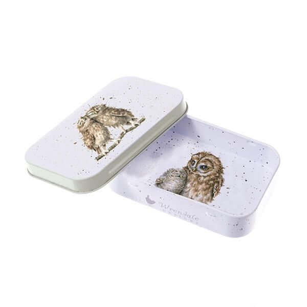 Wrendale Designs Birds Of A Feather Owl Mini Tin