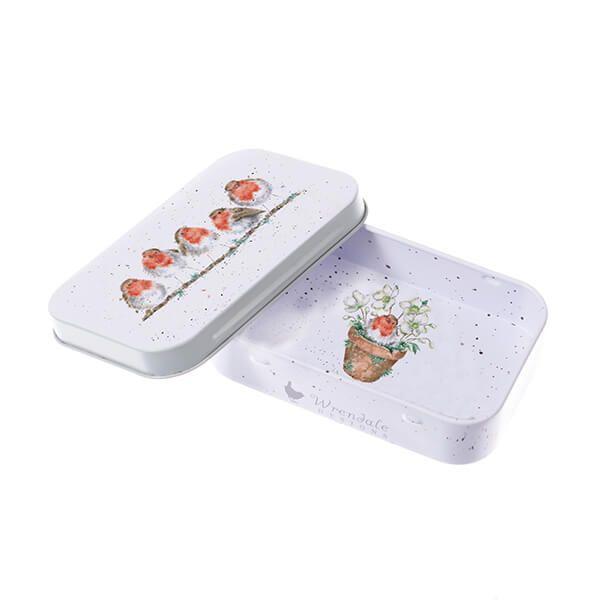 Wrendale Designs Jolly Robin Mini Tin