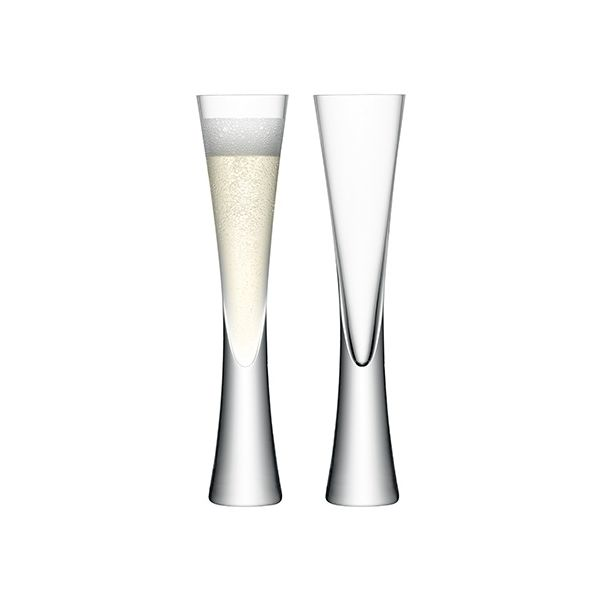 LSA Moya Champagne Flute Set Of Two