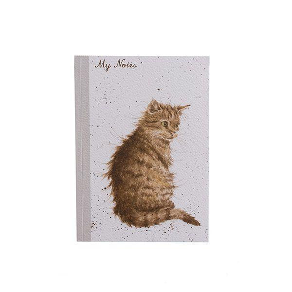 Wrendale Designs A6 Cat Notebook