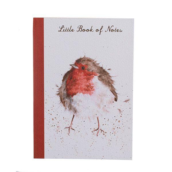 Wrendale Designs A5 Robin Notebook