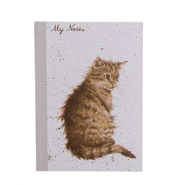 Wrendale Designs A5 Cat Notebook