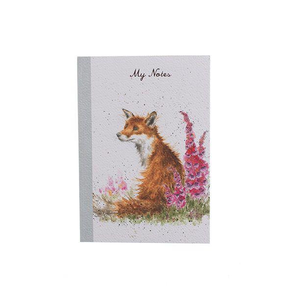 Wrendale Designs A6 Foxgloves Notebook