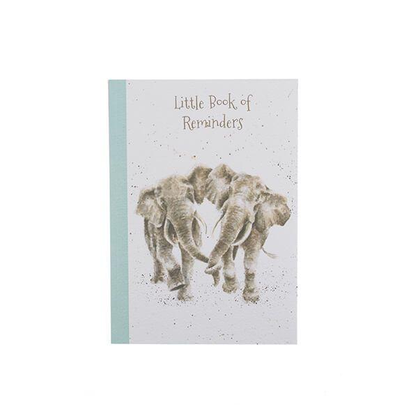 Wrendale Designs Elephant A6 Notebook