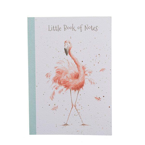 Wrendale Designs Flamingo A5 Notebook