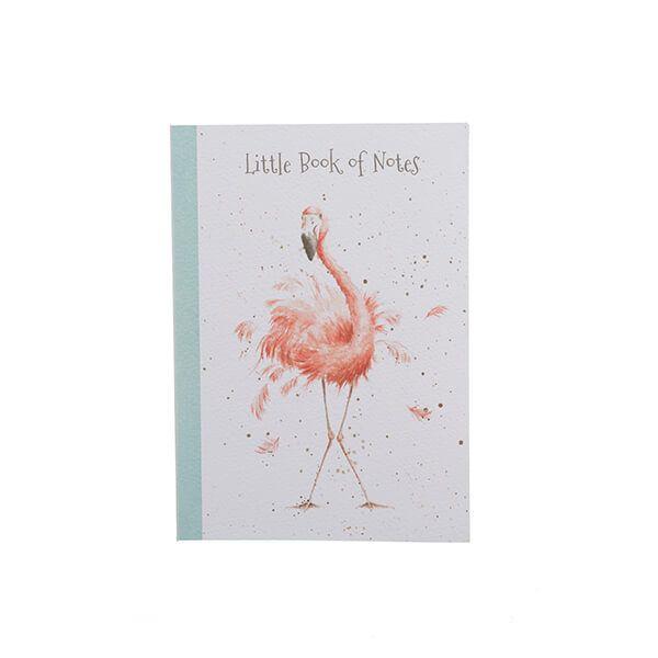 Wrendale Designs Flamingo A6 Notebook