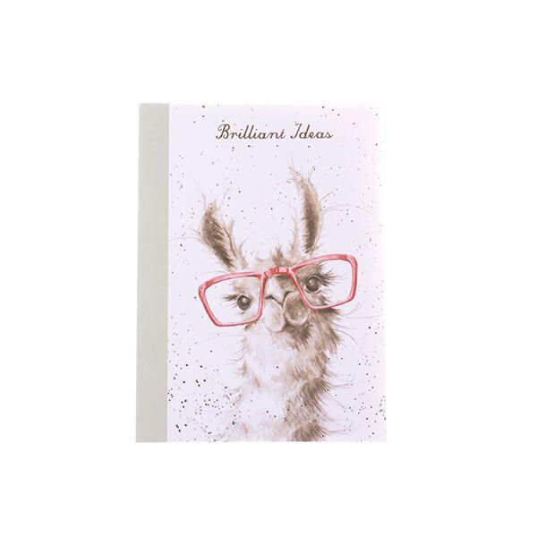 Wrendale Designs A6 Llama Notebook