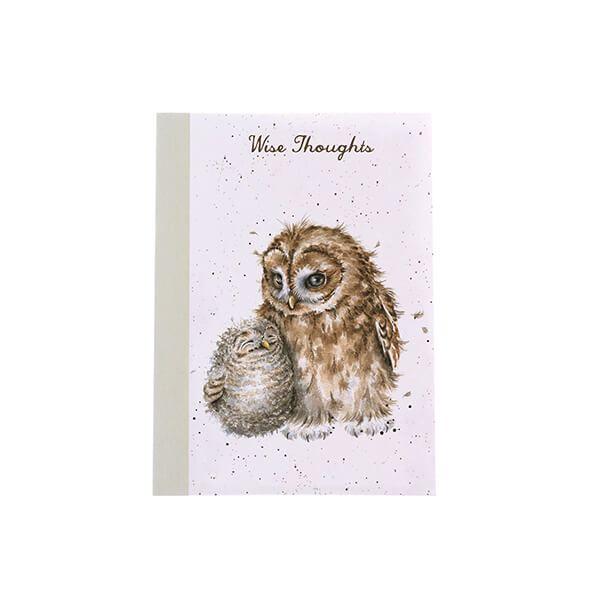 Wrendale Designs A6 Owls Notebook