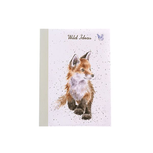 Wrendale Designs A6 Fox Notebook