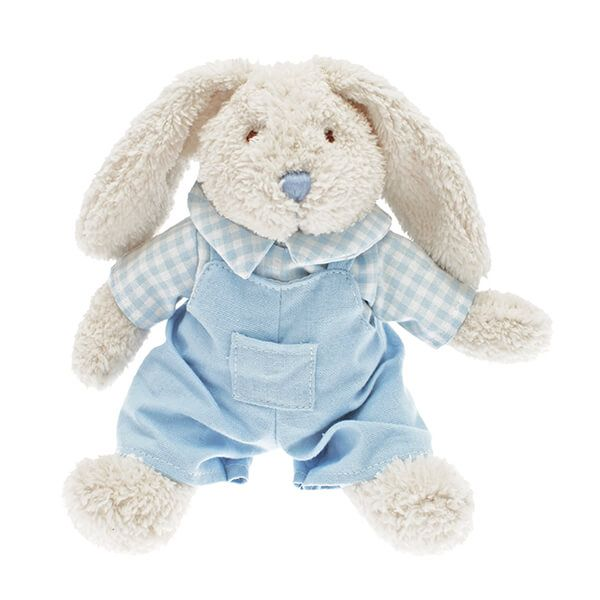Walton & Co Nursery Dressed Rabbit Toy