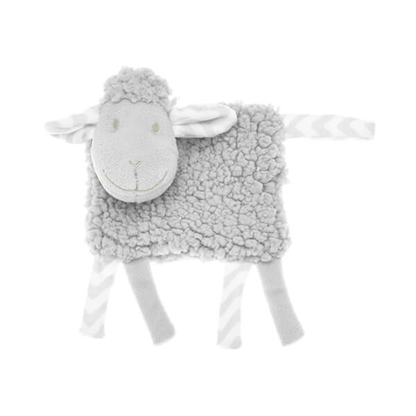 Walton & Co Grey Lamb Rattle