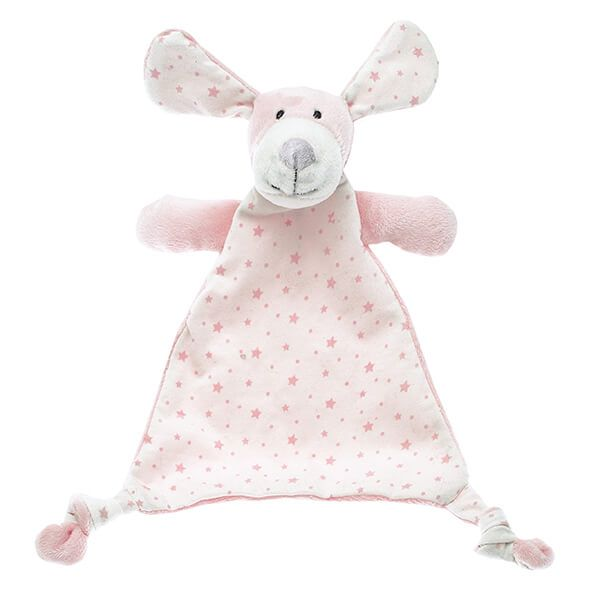 Walton & Co Pink Puppy Small Softee Toy