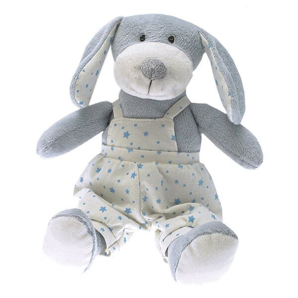 Walton & Co Blue Puppy Toy Paddy