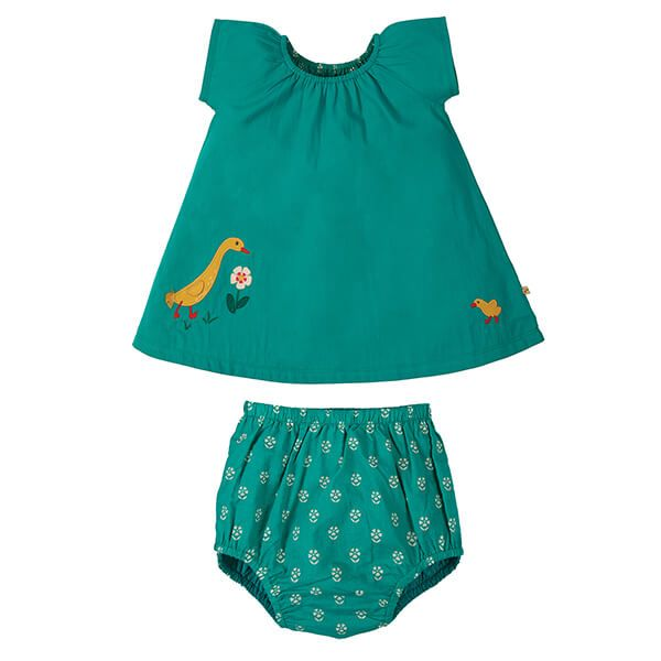 Frugi Organic Jewel/Duck Octavia Outfit