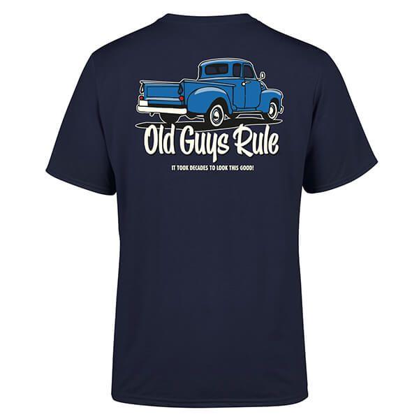 Old Guys Rule Navy It Took Decades T-Shirt Size XXXL