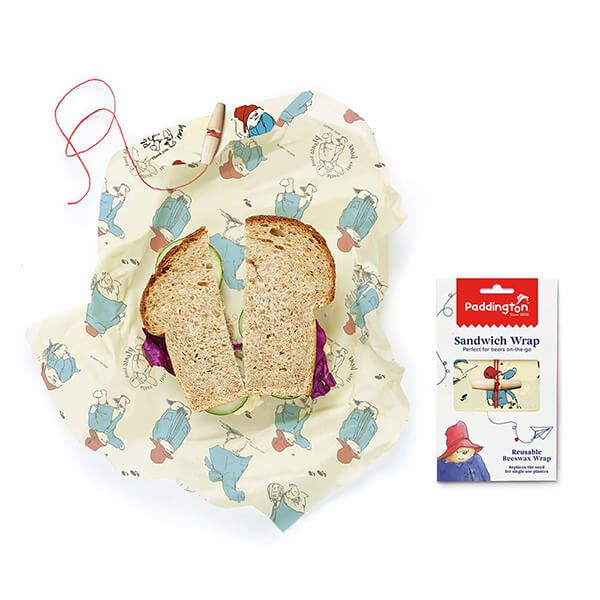 Paddington Bear Sandwich Beeswrap