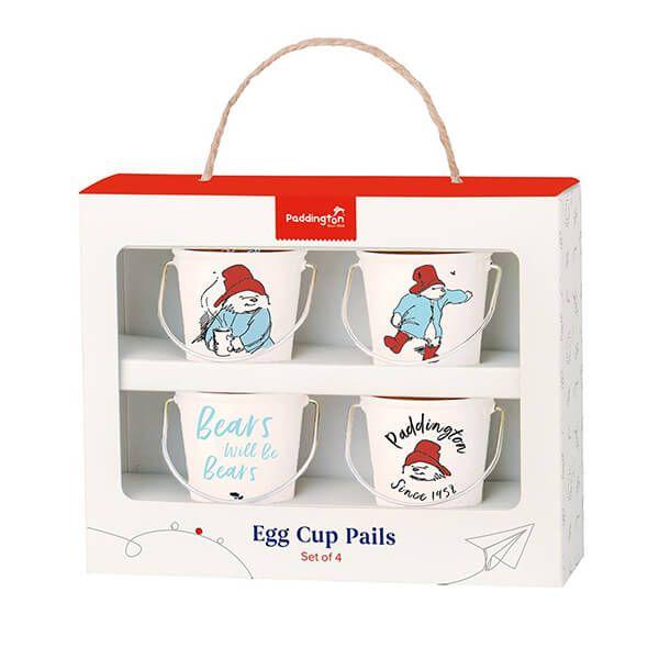 Paddington Bear Egg Cup Pails Cream