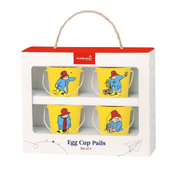 Paddington Bear Egg Cup Pails Yellow