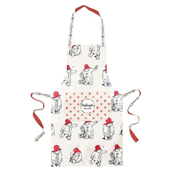 Paddington Bear Apron Adult Red