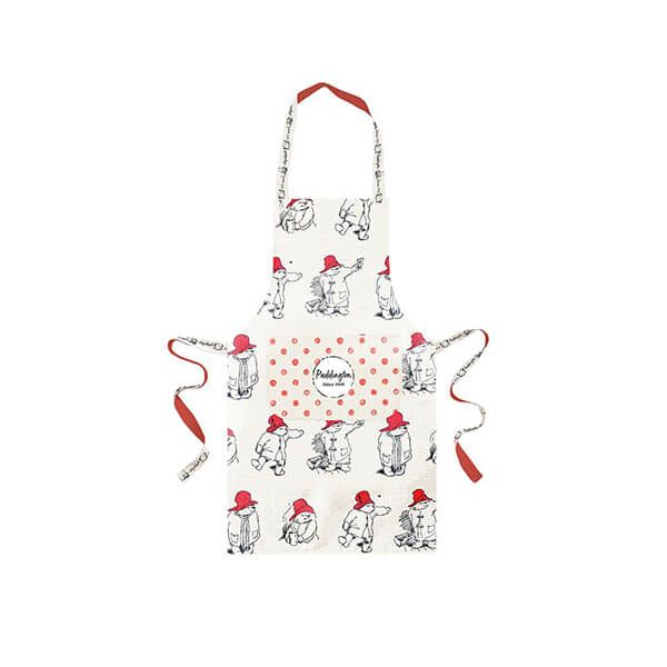 Paddington Bear Apron Kids Red