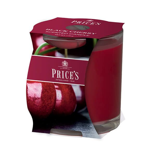 Prices Fragrance Collection Black Cherry Cluster Jar Candle