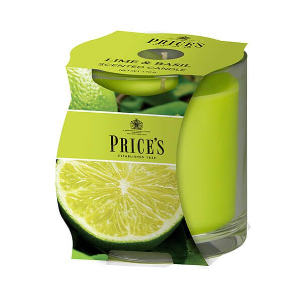 Prices Fragrance Collection Lime / Basil Cluster Jar Candle