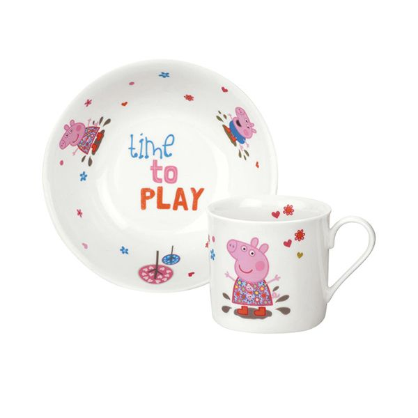 Peppa Pig Mug & Bowl 2 Piece Gift Set