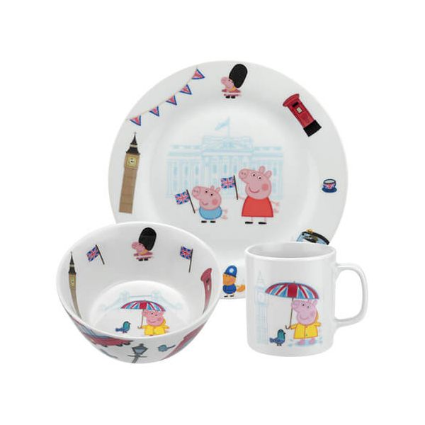 Peppa Pig Peppa London 3 Piece Set