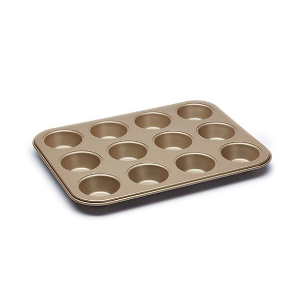 Paul Hollywood Non-Stick 12 Hole Deep Baking Pan 31.5 x 24cm