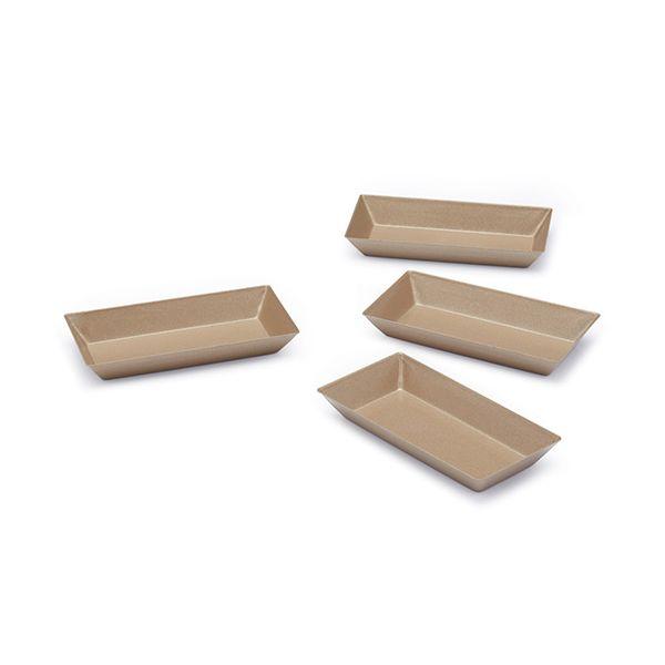 Paul Hollywood Non-Stick Set Of 4 Mini Rectangular Pans